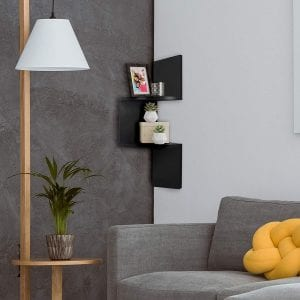 AmericanFlat Corner Floating Shelves