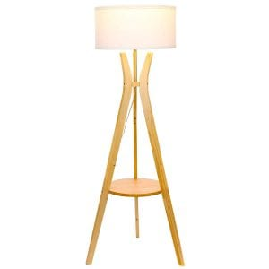 Brightech Charlotte Shelf Floor Lamp