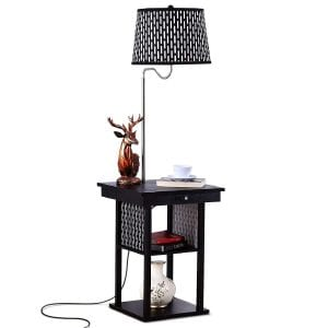 Brightech Madison Shelf Floor Lamp