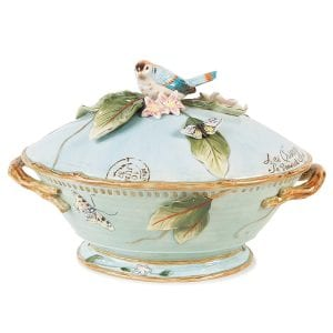 Fits and Floyd Tureen with Covering