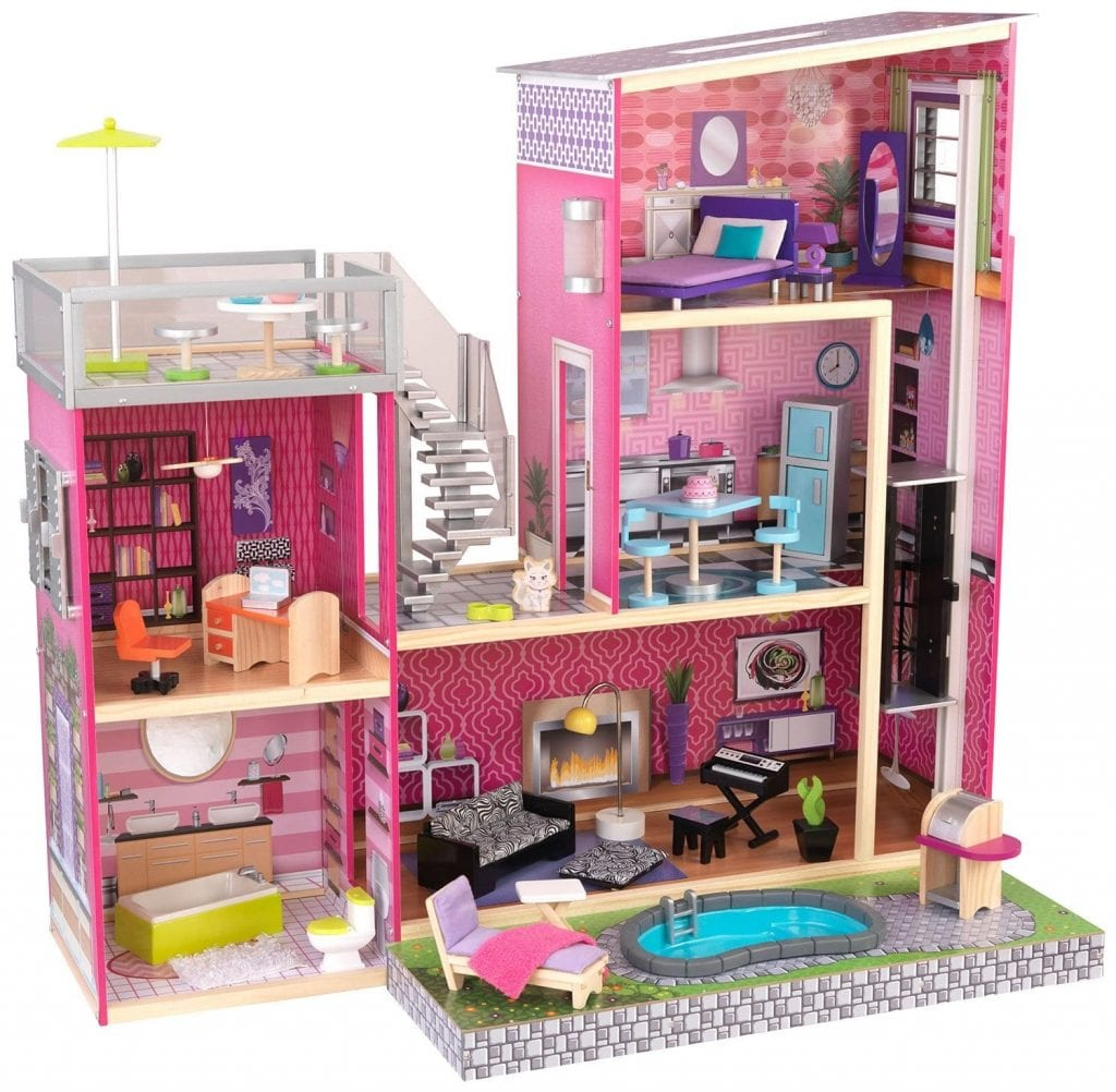 Kidkraft Girls Uptown Dollhouse
