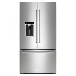 Kitchen Aid KRFC704FPS Stainless French Door Counter-Depth Refrigerator