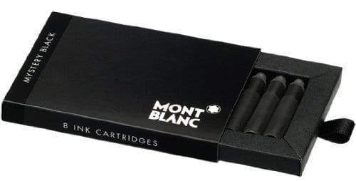 Montblanc Mystery Black Fountain Pen Ink Cartridges