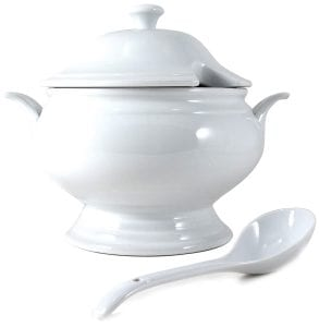 Omniware Soup Tureen with ladle and cover