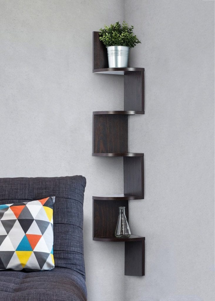 Sagler Corner Floating Shelves