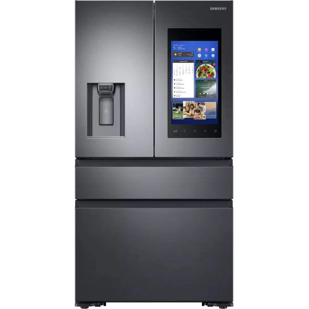 Samsung Black Stainless Steel Counter-Depth 4-Door Refrigerator
