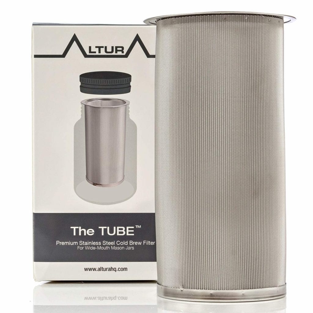 Altura Tube Cold Brew Coffee Maker and Tea Infuser Kit