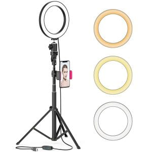 Aptoyu 8-inch LED Selfie Ring Light