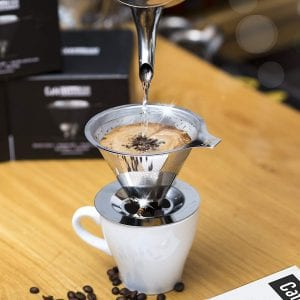 Cafellissimo Paperless Reusable Drip Cone Coffee Filter