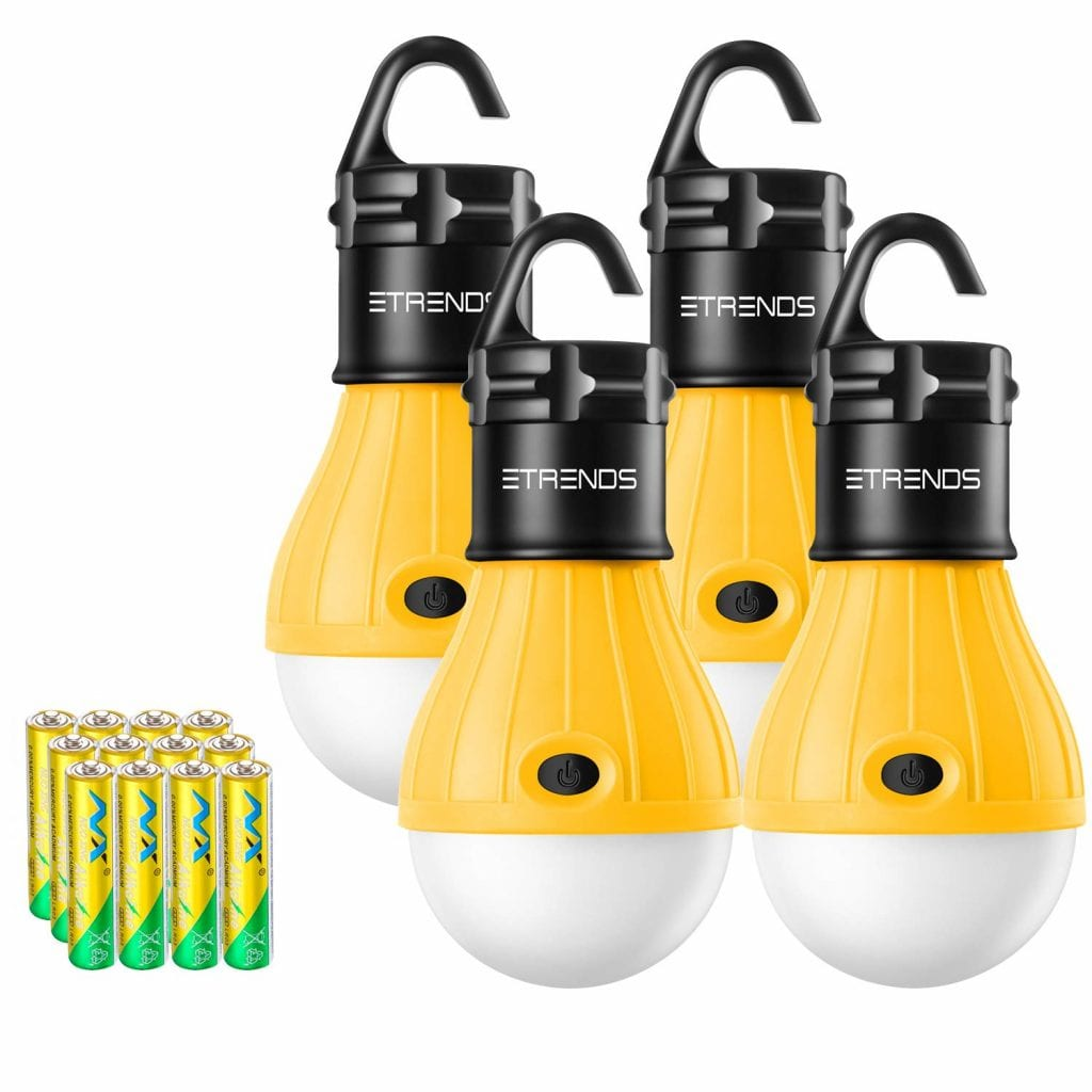 E-Trends 2 Pack/4 Pack Compact LED Lantern