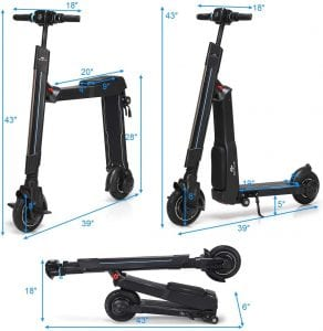 GoPlus Electric Kick Scooter