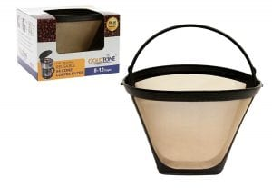 GoldTone Brand Reusable #4 Cone Cuisinart Coffee Filter