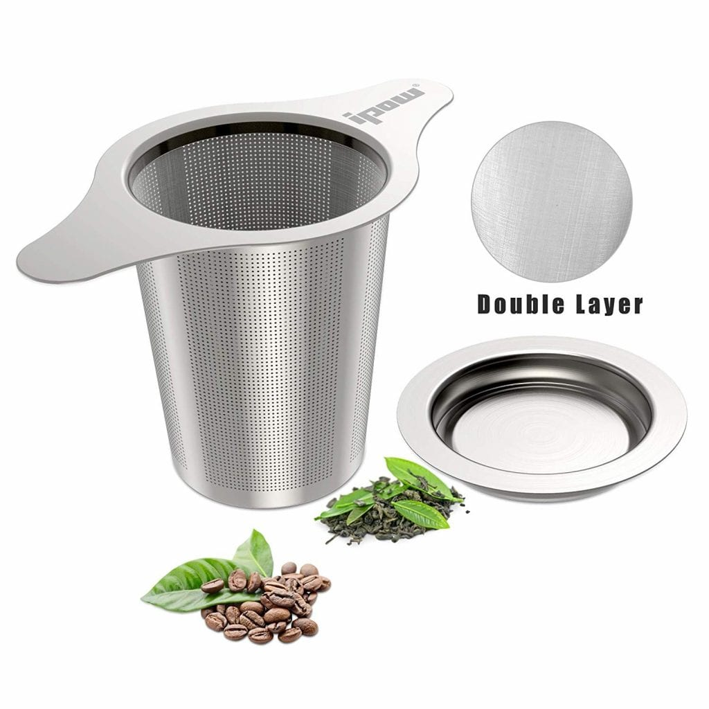 IPOW Upgraded Tea and Coffee Infuser