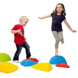 JumpOff Jo Rocksteady Balance Stepping Stones for Kids