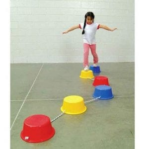 School Smart Stepping Buckets Balance Builders