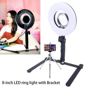 TRUMAGINE 8-inch LED Selfie Ring Light