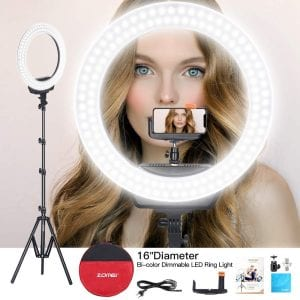 ZOMEi Ring Light Kit 16 Inch