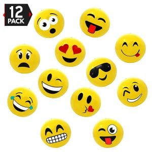 Big Mo's Toys Emoji Pack Beach Balls