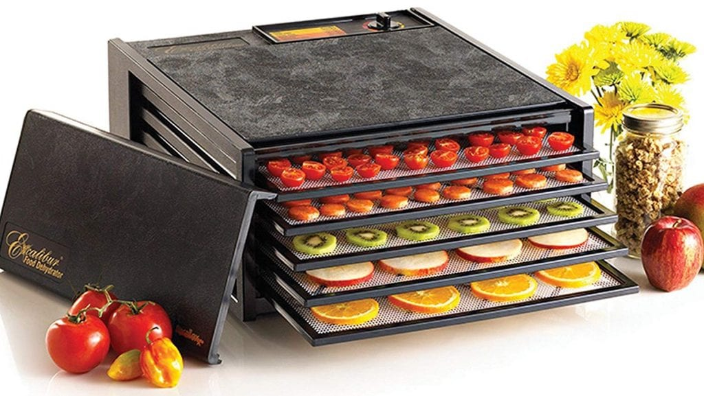 Excalibur 3500B 5-Tray Electric Food Dehydrator