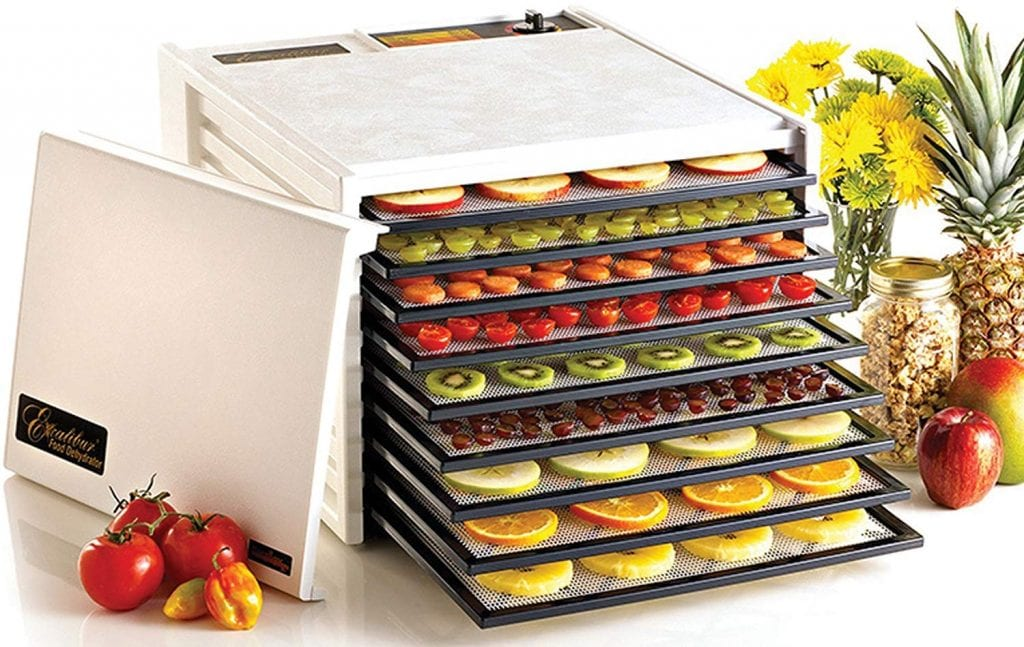 Excalibur 3900W 9-Tray Electric Food Dehydrator
