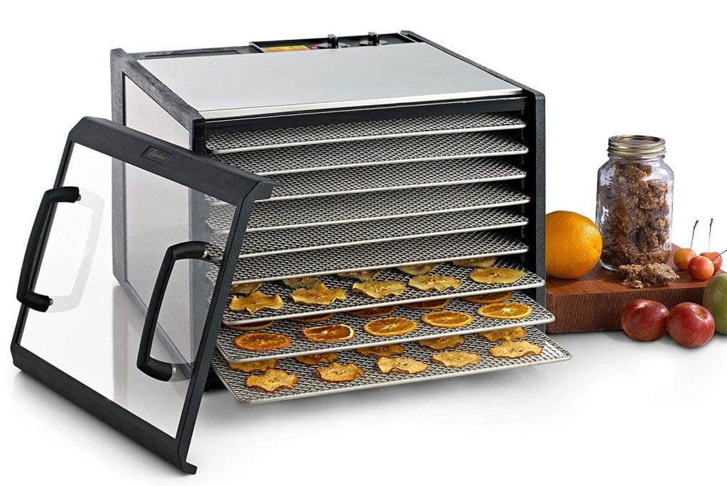 Excalibur D900CDSHD 9 Dehydrator with Trays and Clear Door