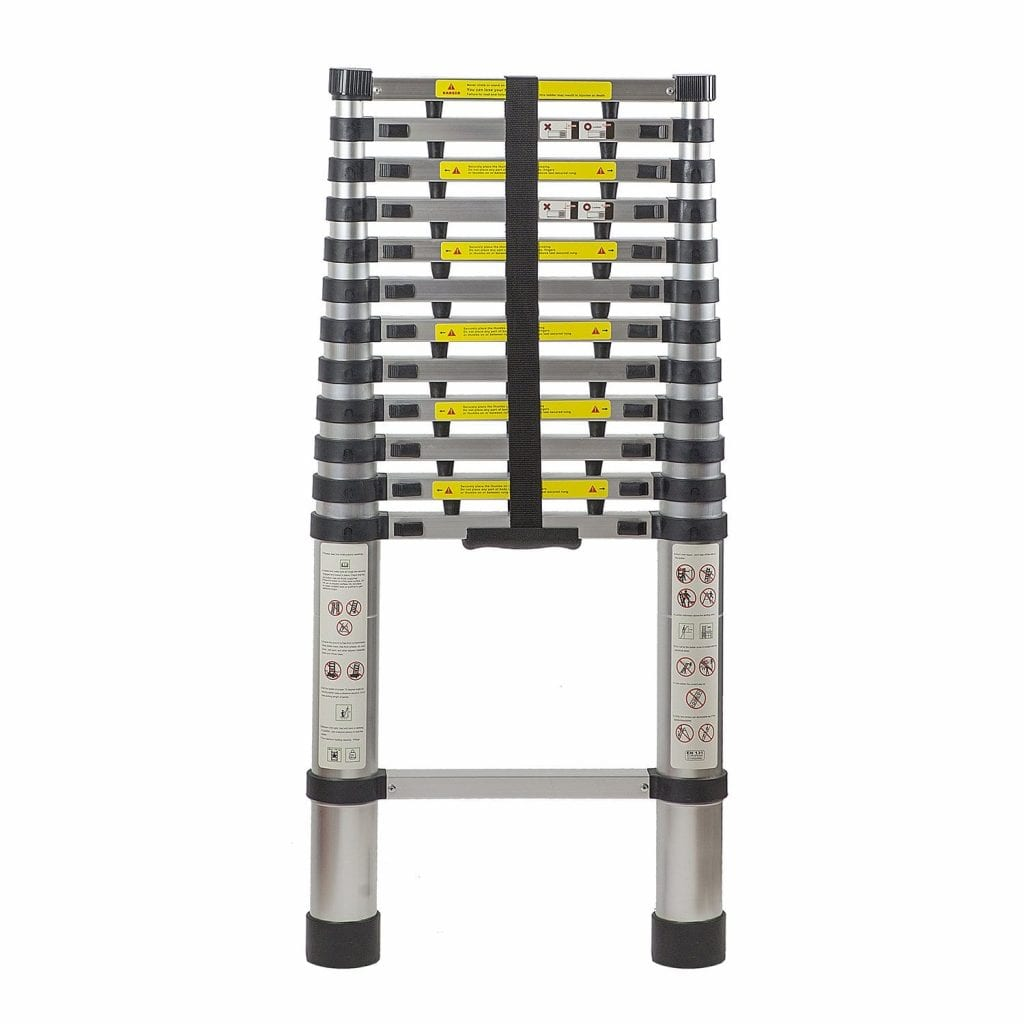 Flash Enterprise 12.5 Ft Telescoping Ladder