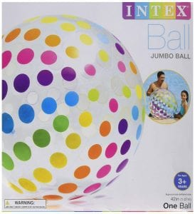Intex Giant Inflated Colorful Balls