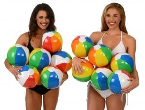 Kangaroo Beach Rainbow Colored Pool Balls