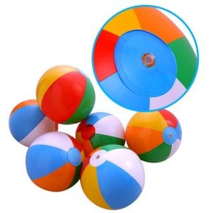 Lumiparty Rainbow Pool Party Beach Balls