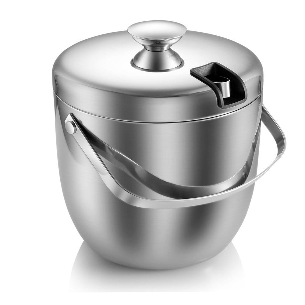 MKRSD Insulated Stainless Steel Ice Bucket