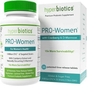 Pro –Women- Probiotics for Women with D-Mannose & Cranberry Extract