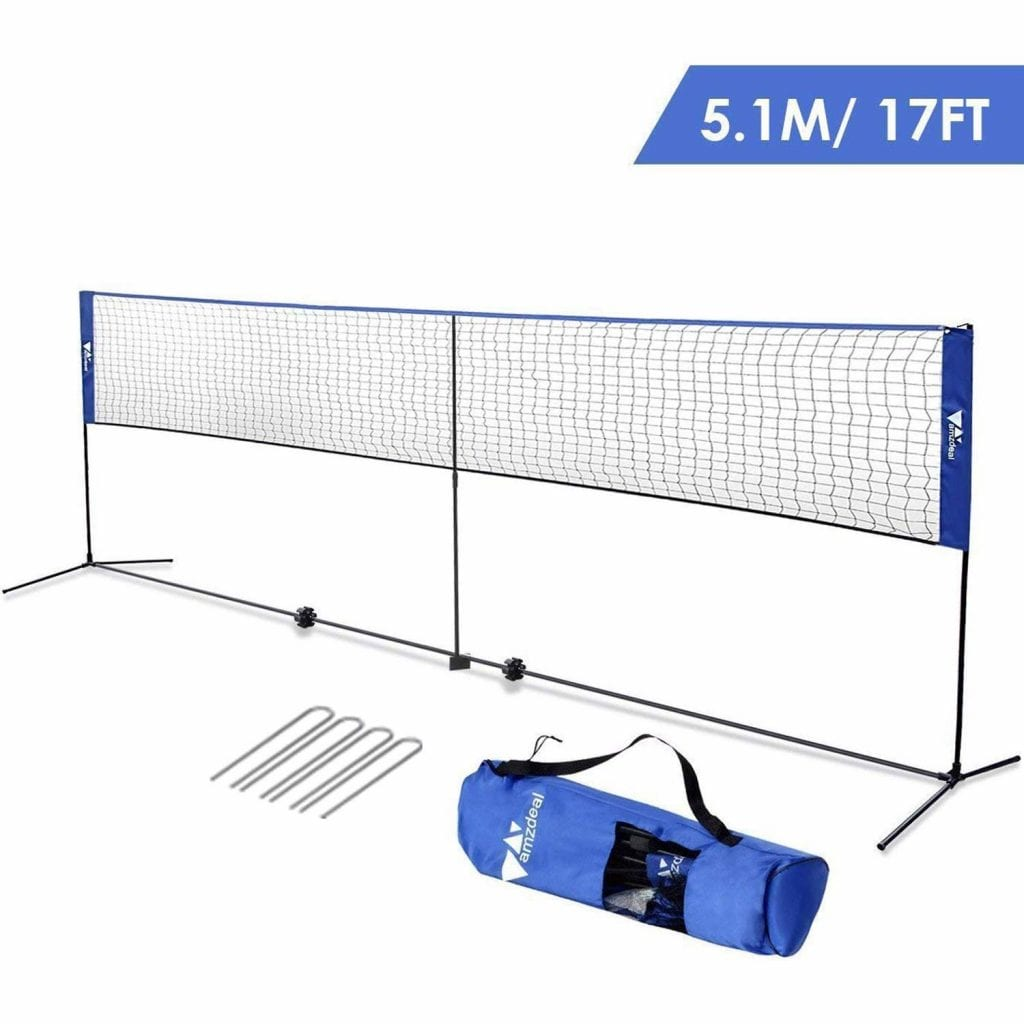 amzdeal Badminton & Volleyball Net