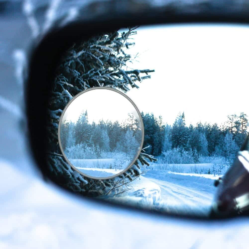4 Pack Blind Spot Mirror for SUV by Essential Contraptions
