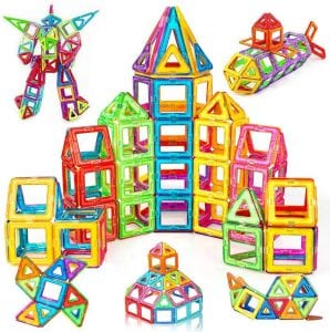 Ailuki Magnetic Blocks Building Tiles Set