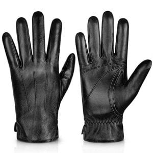 Alepo Sheepskin Leather Gloves For Men