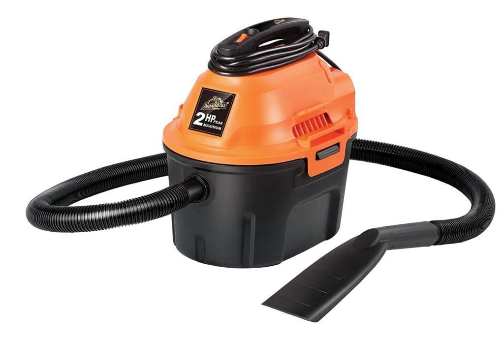 Armor All Utility Wet/Dry Vacuum Cleaner