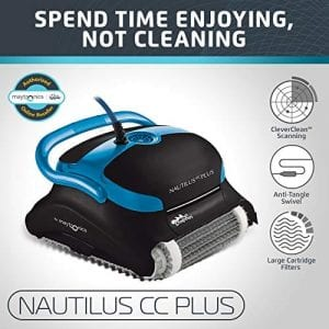 Dolphin Nautilus CC Plus Automatic Robotic Cleaner