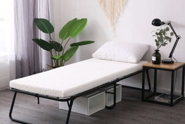Folding Guest Beds with Mattresses