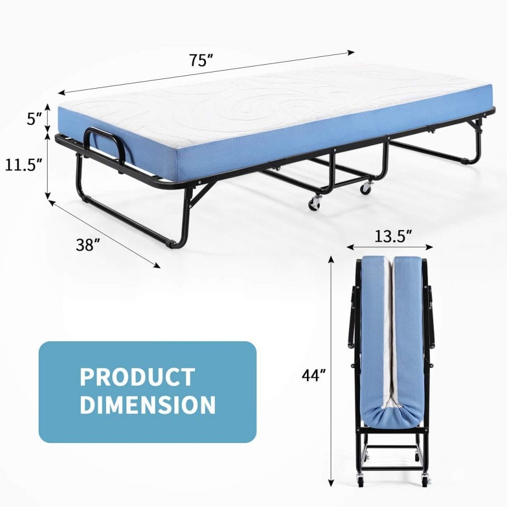 Inofia Foldable Folding Bed