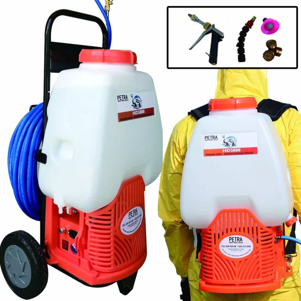 Petra Battery Powered Backpack Sprayer