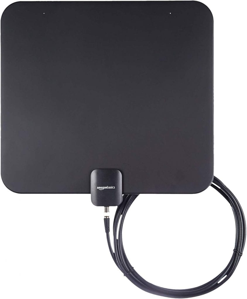 AmazonBasics Indoor Flat TV antenna