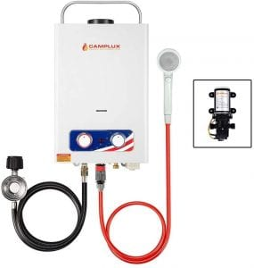 Camplux Pro Outdoor Portable Propane Tankless Water Heater
