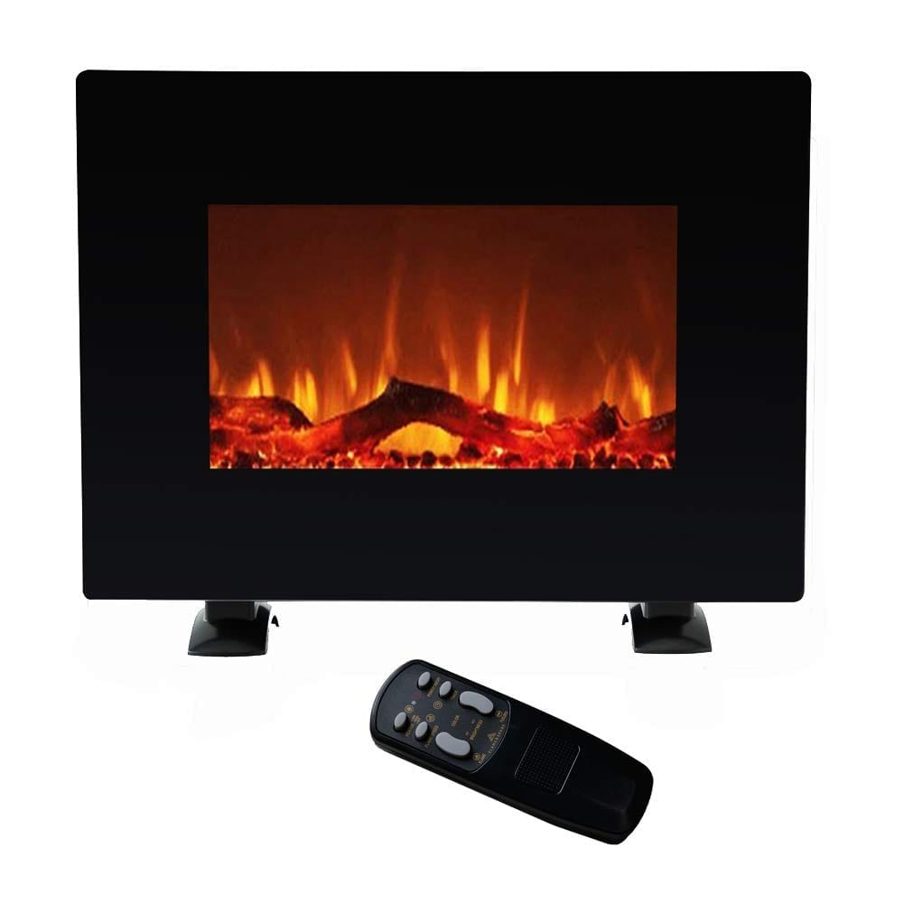 FLAME&SHADE Wall Mounted Electric Fireplace Heater