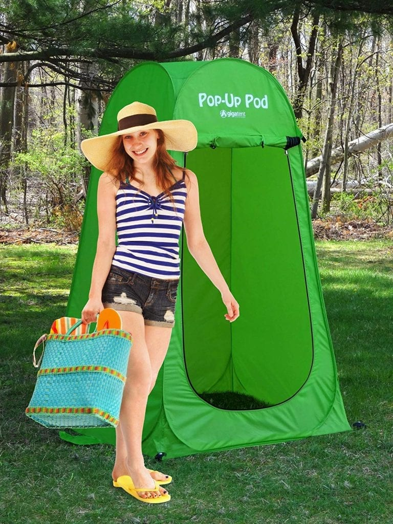 GigaTent Pop-up Pod Changing Room Privacy Tent