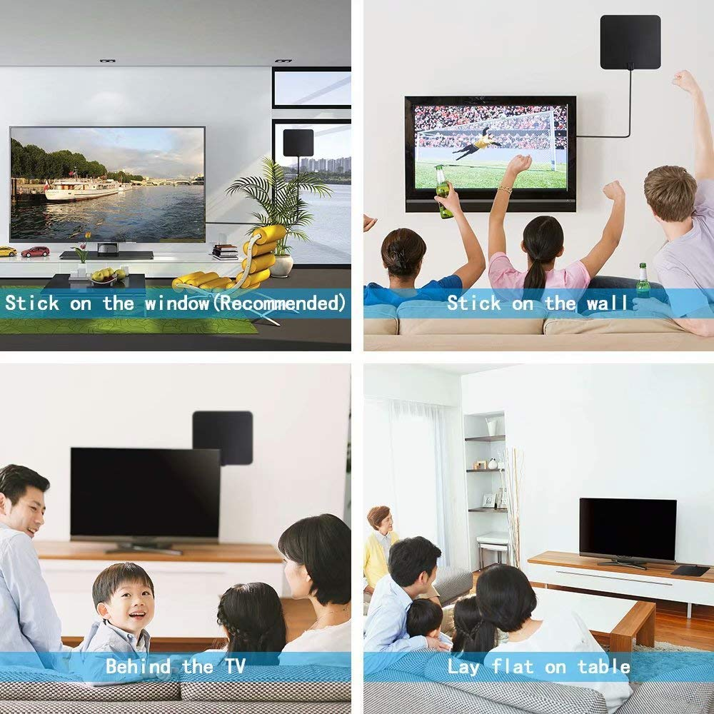 Oliomp Digital Amplified Indoor HDTV Antenna