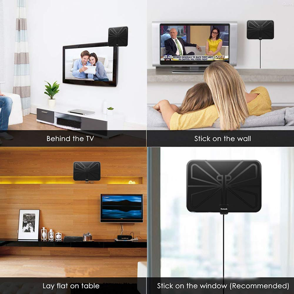 Totech digital amplified indoor HD TV antenna