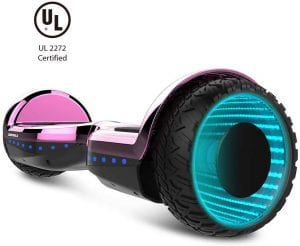 Wormhole off-road self-balancing hoverboard