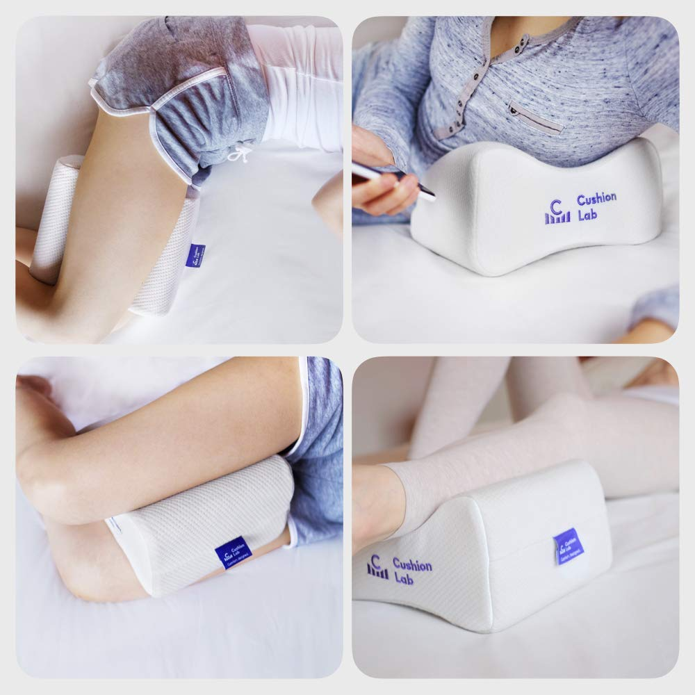 Cushion Lab Extra Dense Orthopedic Knee Pillow