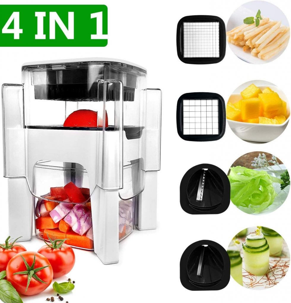 Fun Life 4-in-1 Vegetable Chopper