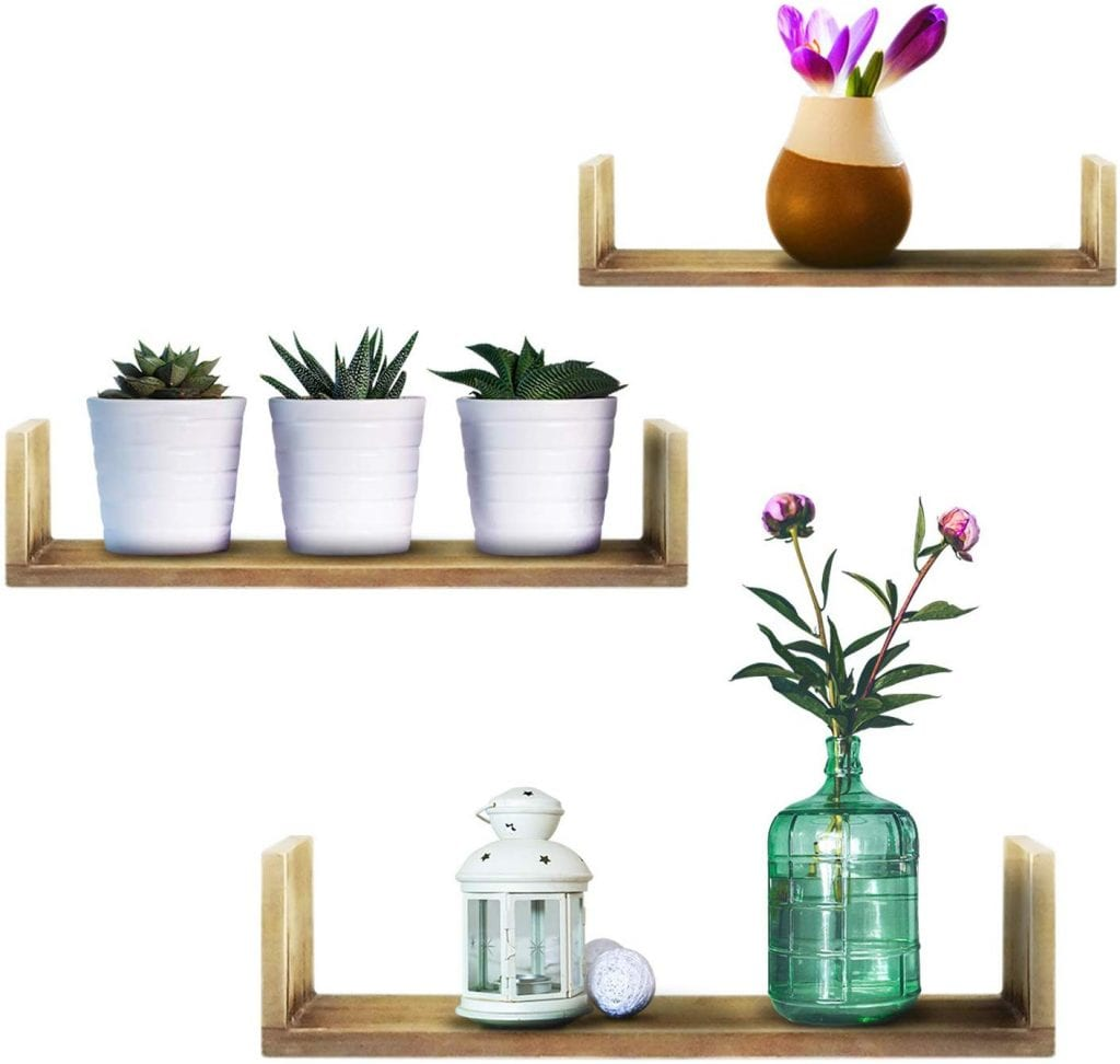 Infinity Forward Floating Shelves